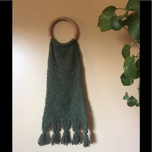 Crochet Ring Purse Boho Hippie Bag